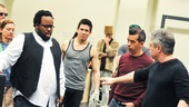 Hands on a Hardbody – Rehearsal – Jacob Ming-Trent - Neil Pepe – cast
