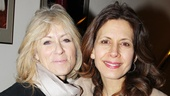 Tony winner Judith Light embraces Jessica Hecht, her co-star in the forthcoming The Assembled Parties.