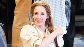 Jessie Mueller dazzles on stage as the comically nave Carrie.