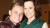 Billy Magnussen plays Spike, the young lover of Sigourney Weaver's movie star character, Masha.