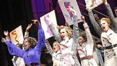 "Lola and the Angels take center stage at the Hirschfeld to deliver their all-important message: ""Sex is in the Heel."""
