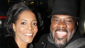 Tony nominee Phillip Boykin and his wife are ready to enjoy the romance of Cinderella.