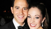Broadway royalty Santino Fontana and Laura Osnes headline Cinderella as the prince and princess.