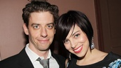 Smash co-stars Christian Borle and Krysta Rodriguez flash a smile at the annual MCC Theater gala.