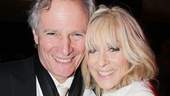 Judith Light celebrates with her husband, Robert Desiderio, by her side.