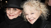 Tony winner Elizabeth Ashley and Tony nominee Penny Fuller look like two theater-lovin ladies!