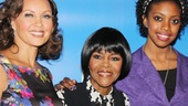 The gorgeous women of The Trip to Bountiful, Vanessa Williams, Cicely Tyson and Condola Rashad, line up for a photo.