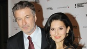 Orphans star Alec Baldwin (with wife Hilaria Thomas) appeared in Roundabout's Twentieth Century in 2004.
