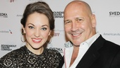Roundabout Spring Gala  Laura Osnes  Carmen Marc Valvo