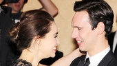 Onstage pair Emilia Clarke and Cory Michael Smith congratulate each other on their Broadway debuts!