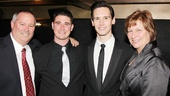 Cory Michael Smith receives some lovely familial support from his parents and brother.