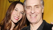 Keith Carradine and his wife Hayley Dumond unwind at the post-show party.