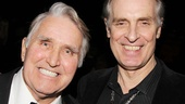 The real JD Drew is thrilled to meet the man who plays him onstage, Keith Carradine.