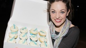 Laura Osnes gives Broadway.com a sneak peek of the new Magnolia Bakery cupcakes inspired by the musical hit Cinderella. 