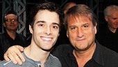 Newsies leading man Corey Cott and director Jeff Calhoun send a big hello to the fansies.