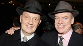 Christopher McDonald (r.) buddies up next to slick lawyer Eddie Hayes, whom he portrays in Lucky Guy.