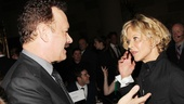 As Tom Hanks chats up Meg Ryan, our hearts break just a little bit. (Quick, where's that You've Got Mail DVD!?)