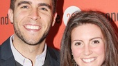 Broadway alum Josh Segarra and his beautiful girlfriend Brace Rice cant wait to see Jason Robert Browns love story unfold onstage.