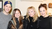 Rebecca De Mornay brought her young daughter Veronica backstage to meet Cinderella headliners Santino Fontana and Laura Osnes.