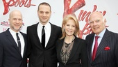 Kinky Boots Opening-  Richie Jackson- Jordan Roth- Daryl Roth- Steven Roth