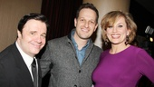 It's a Good Wife reunion for Nathan Lane, Josh Charles and Cady Huffman.