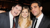 Off stage, its a happy opening for leading players Richard Kind, Marin Ireland and Bobby Cannavale.