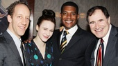 Cast members Joey Slotnick, Rachel Brosnahan, Billy Eugene Jones and Richard Kind have reason to celebrate!