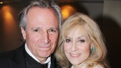 Judith Light, who plays the riotous Faye, gets support form her husband, actor Robert Desiderio.