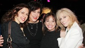 The Assembled Parties – Opening Night – Jessica Hecht – Lynne Meadow – Valerie Harper – Judith Light