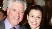 Billy Elliot Tony winner Gregory Jbara is thrilled to see a Broadway show with his Blue Bloods co-star Bridget Moynahan.