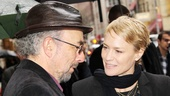Richard Schiff returns to the Schoenfeld Theatre, where he starred in Glengarry Glen Ross, and catches up with actress Robin Wright.