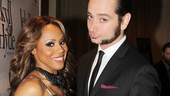 This guy! Deborah Cox gives props to the man of the hour, her Jekyll co-star Constantine Maroulis.