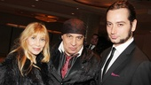 The Rascals' producers Maureen and Steven Van Zandt welcome their new Broadway neighbor Constantine Maroulis to 46th Street.
