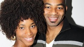 Motown: The Musical's leading duo Valisia LeKae and Brandon Victor Dixon step into the recording studio for a day of music!