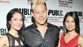 'Here Lies Love' Opening — Janelle Velasquez — Kelvin Moon Loh — Debralee Daco