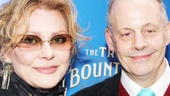 Tony winner Elizabeth Ashley is joined on the red carpet by Broadway producer Jeffrey Richards.