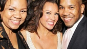Broadway sister-brother duo Aisha and Darius de Haas flank Vanessa WilliamsDarius appeared alongside Williams in Kiss of the Spider Woman in 1994.