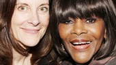 It was Cicely Tyson's (r.) dream to star as Carrie Watts in The Trip to Bountiful, and with the help of Hallie Foote, the dream came true!