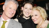 Bette Midler shares her Broadway return with her loving family, hubby Martin von Haselberg and daughter Sophie.