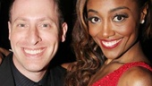 Patina Miller shares the spotlight with her manager Jeremy Katz on her big night.