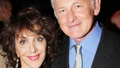 After her show-stopping performance, Andrea Martin hangs out with her longtime pal, stage and screen star Victor Garber.