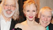Co-stars Terrence Mann and Charlotte d'Amboise take a gorgeous family photo with their kids, Josie and Shelby, and proud papa, legendary dancer Jacques d'Amboise.