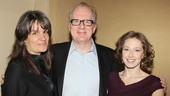 Director Pam MacKinnon, Tracy Letts and Carrie Coon are enjoying the love for their revival of Who's Afraid of Virginia Woolf?.