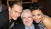 Billy Magnussen and Shalita Grant go cheek to cheek with Vanya and Sonia and Masha and Spike playwright Christopher Durang.