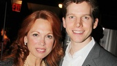 Scandalous star Carolee Carmello takes in the scenery with the adorable Stark Sands.