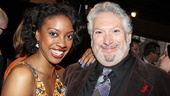 The Trip to Bountiful's Condola Rashad spends some quality time with Broadway vet Harvey Fierstein.