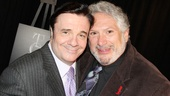 Could there be a more perfect pair than Tony winners Nathan Lane and Harvey Fierstein?