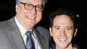 Cinderella scribe Douglas Carter Beane gets giddy with hunky leading actor Santino Fontana.