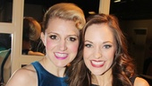2013 Tony Nominee Brunch — Annaleigh Ashford — Laura Osnes
