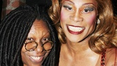 EGOT winner Whoopi Goldberg comes in close with  Tony nominee and Audience Choice Award winner Billy Porter.